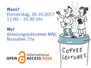 Coffe Lectures Open Access