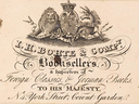 I.H. Bohte & Company Booksellers & importers of Foreign Classics & German Books to His Majesty