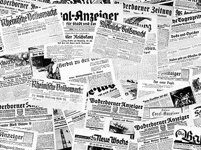 Right click to download: Zeitungscollage