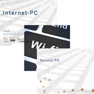 Internet access and computer workstations